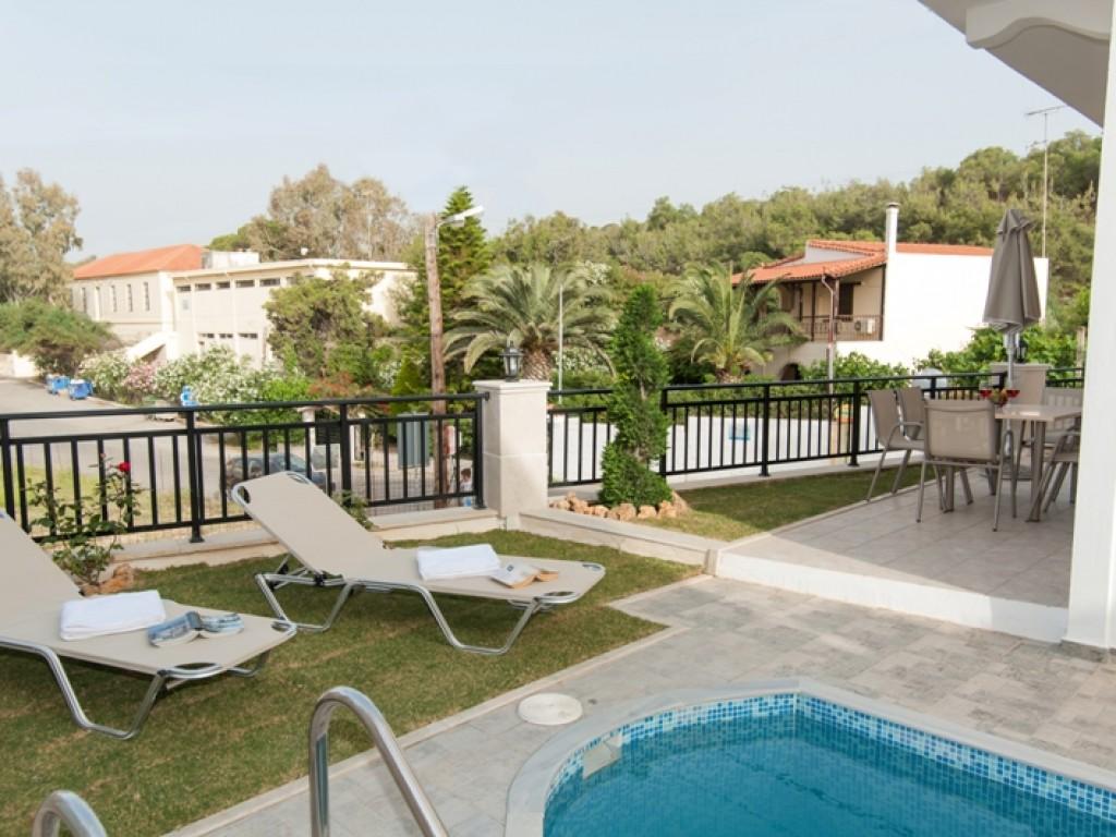 Ferienhaus mit Pool nur 200 m vom Strand (1996568), Roumeli, Kreta Nordküste, Kreta, Griechenland, Bild 6