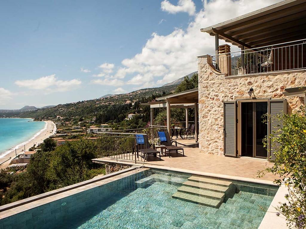 ferienhaus in lourdas griechenland kefalonia villa 577. Black Bedroom Furniture Sets. Home Design Ideas